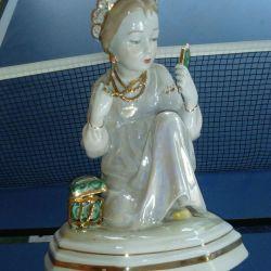 Porcelain miniature