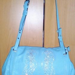 Stylish blue bag