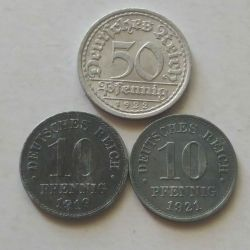 Coins of Germany.