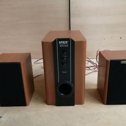 Ακουστικό σύστημα 2.1 Sven SPS-820. Ανταλλαγή