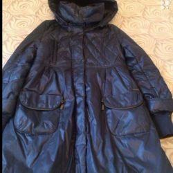 Down jacket-raincoat. Winter
