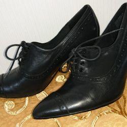 Shoes nat.kozha, rr.38 NEW