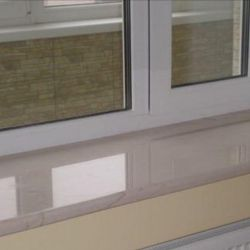Window sills, sills, slopes, siding ...