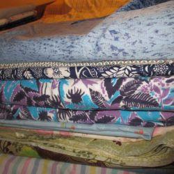 Fabrics The flap. Cuts.