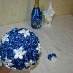 Μπουκέτο με λουλούδια, Μπουκέτο γάμου, Μπουκέτο Nevsty, λουλούδια