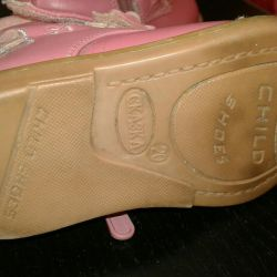 Boots 20 r.agen leather