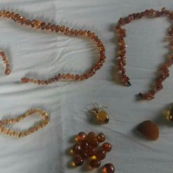 Vintage amber.