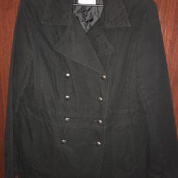 Short coat female demi-season