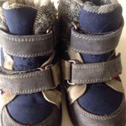 Χειμερινές μπότες για ένα αγόρι