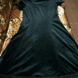 Rochie din catifea.