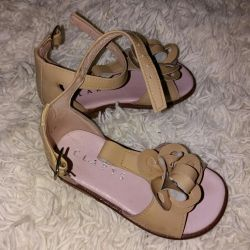 Sandals for a little princess