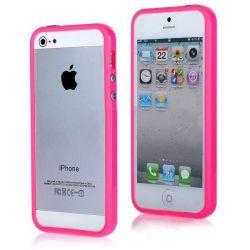 Διαφανής προφυλακτήρας καπακιού για το iPhone 5 / 5s SE