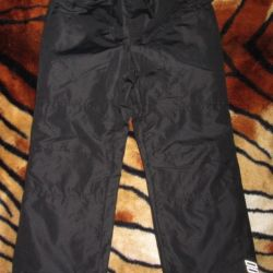 NEW demi-season Funday outdoor pants p.134