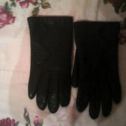 I will sell gloves genuine leather