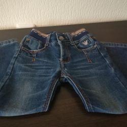 Warm jeans p 104