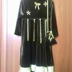 Elegant dress for girls 6-8 years