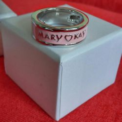 Exclusive Pink Ring with Mary Kay Logo