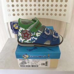 Footwear for a boy with anatom insole KOTOFEY