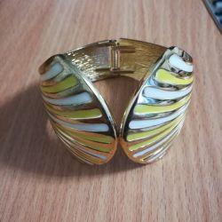 Metal bracelet new stradivarius
