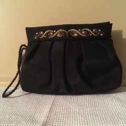 Gold sewing bag