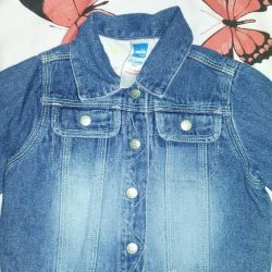 I'm selling a denim jacket for a baby in an excellent