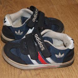 Adidași adidas (original) nat. piele de căprioară.