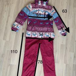New Columbia ski suit size 48