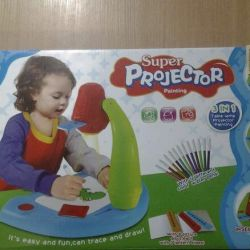 Projector children's for drawing New 3 in 1