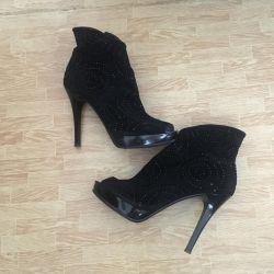 Κάλτσες αστραγάλου με ανοιχτό toe