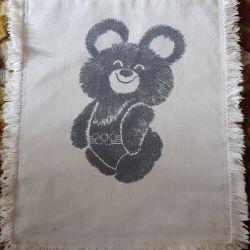 Τσάντα με ολυμπιακή αρκούδα