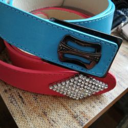 Leatherette belts