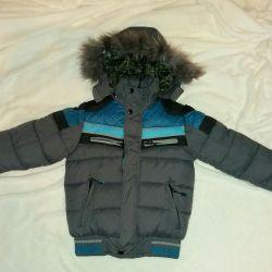 Куртка зимняя новая! 4-5 лет