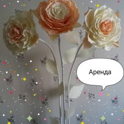 Roses from foamiran