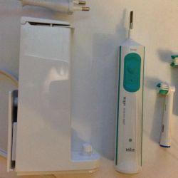 Electric toothbrush braun ultra