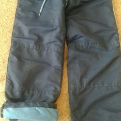 Trousers insulated on fleece growth 116 spring - autumn
