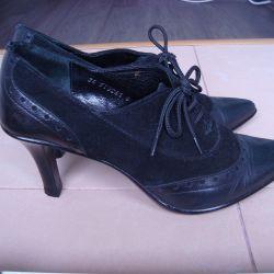 Hakiki deri ve süet ayakkabılar