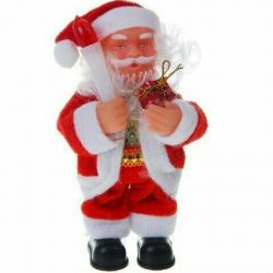 Toy Santa Claus under the tree new