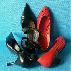 Shoes p. 37. Nat. leather p. 38