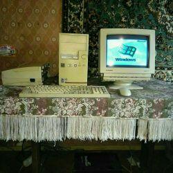 Настольный компьютер.