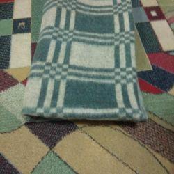 New wool blanket