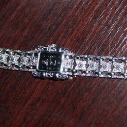 Watch new with a metal bracelet