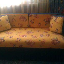 Sliding sofa