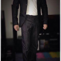 Мужской костюм (брюки пиджак ) Sasch