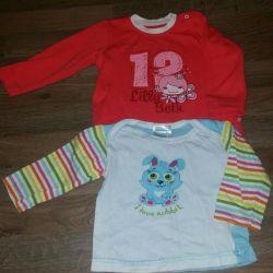 Κορμάκια και μπλούζες για κορίτσια