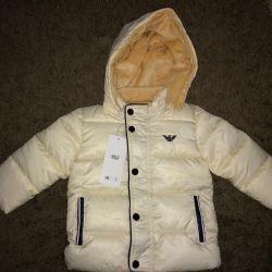 Детская куртка armani
