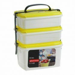 Set de containere Micro Top Box, 3 buc