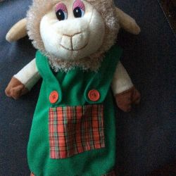 Sheep handbag.