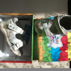 Sandals Jump Skok (Velcro)