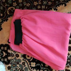 Skirt to the floor, maxi skirt