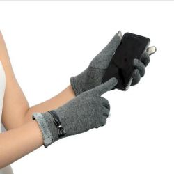 Перчатки женские для смартфона и сенсорного экрана